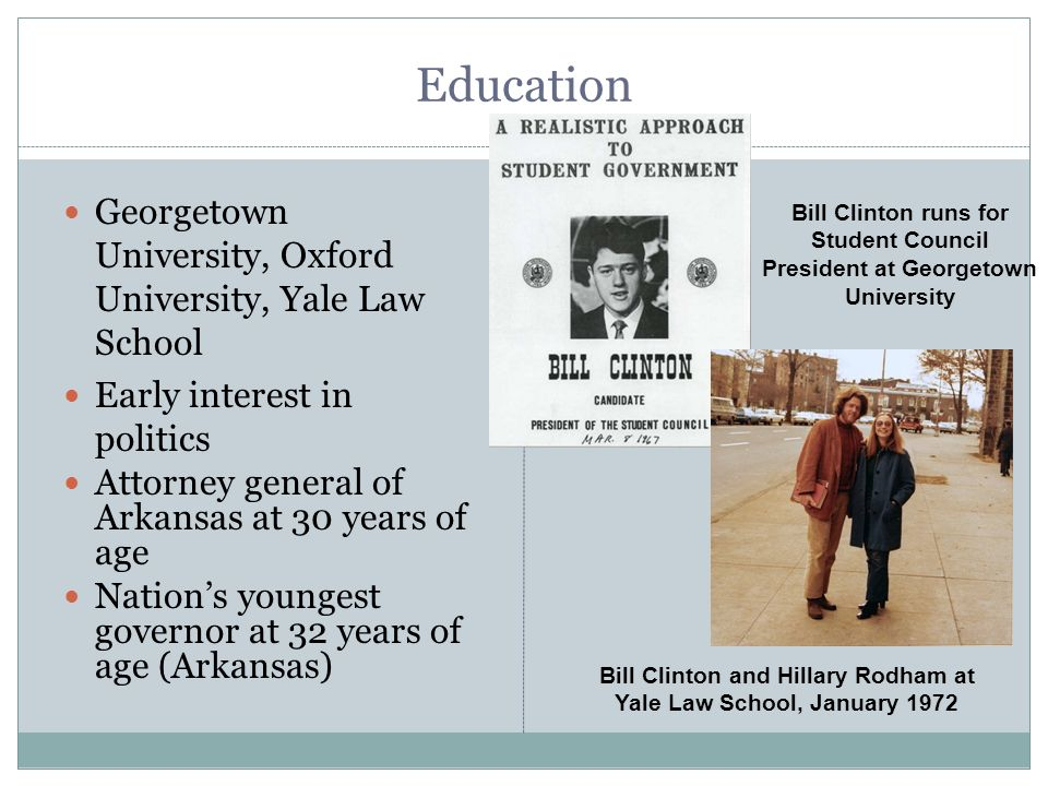 Bill Clinton and Hillary Rodham at Yale Law School, January 1972