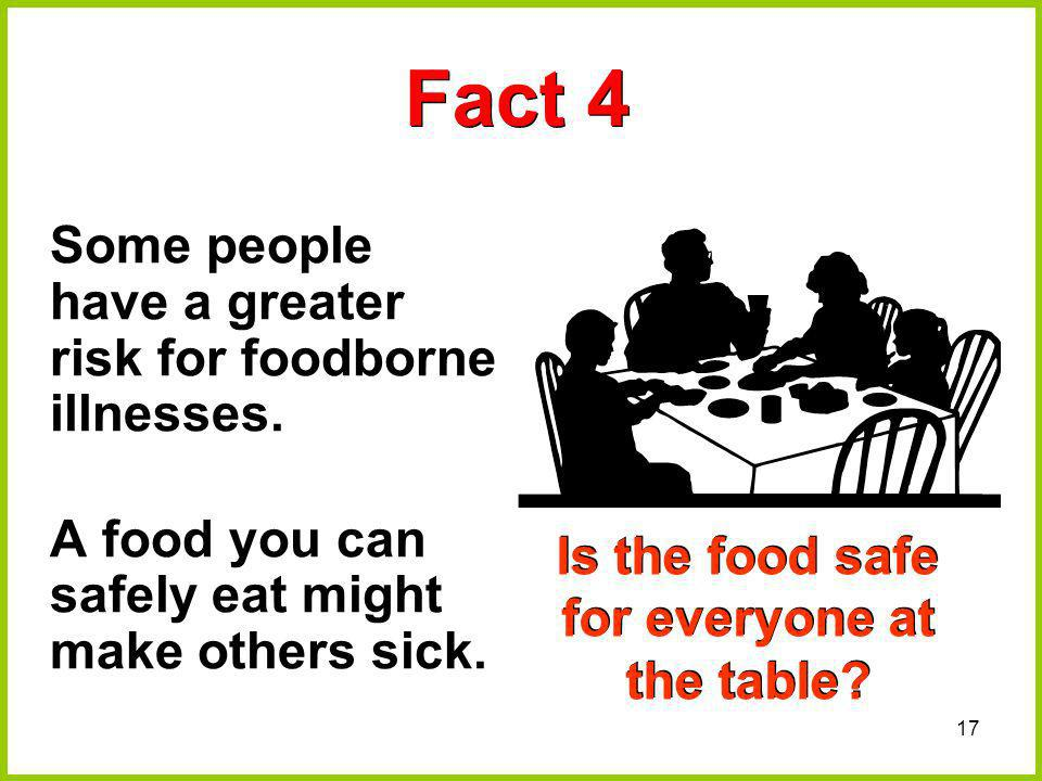 Is the food safe for everyone at the table