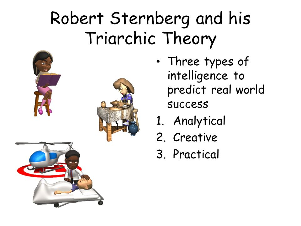Robert Sternberg and his Triarchic Theory
