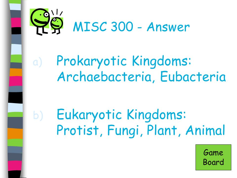Prokaryotic Kingdoms: Archaebacteria, Eubacteria