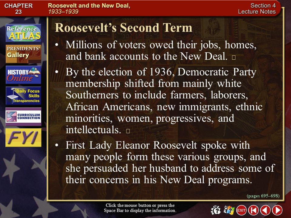 Roosevelt's Second Term