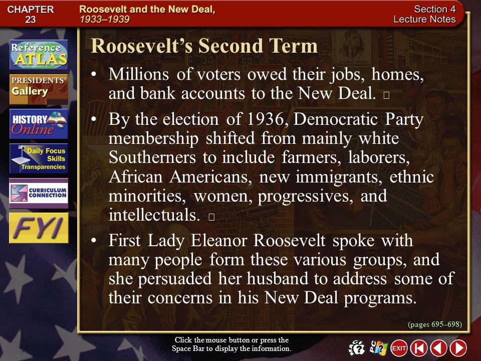 Roosevelt's Second Term