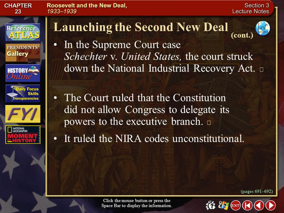 Launching the Second New Deal