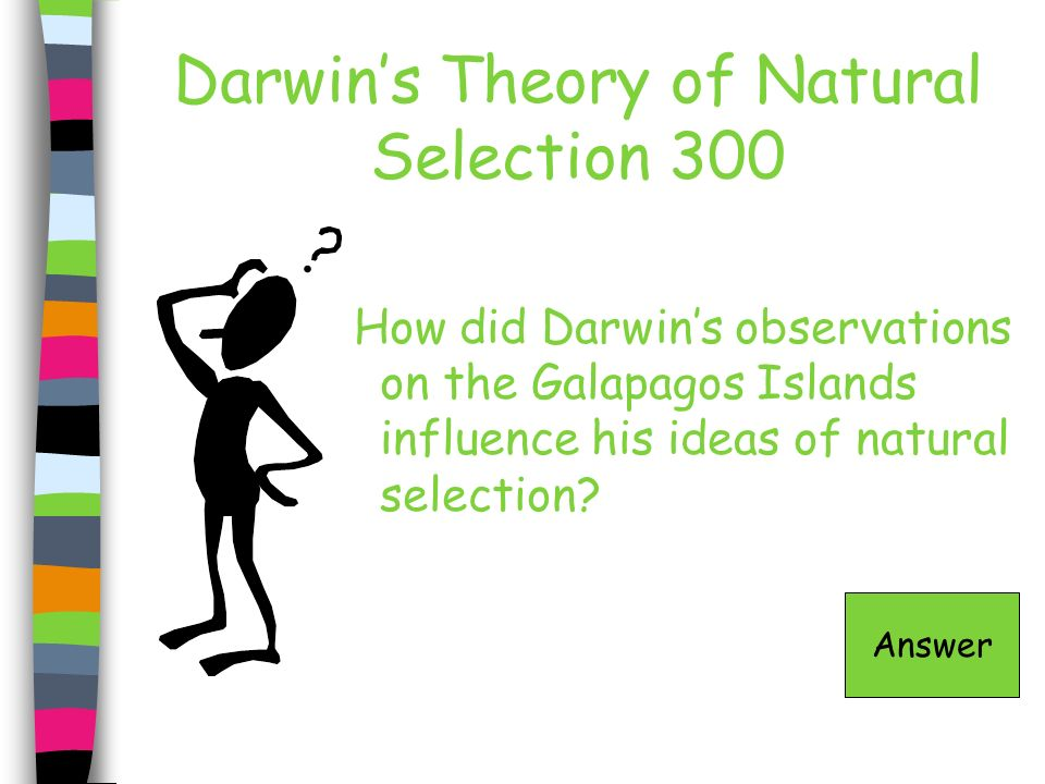 Darwin's Theory of Natural Selection 300