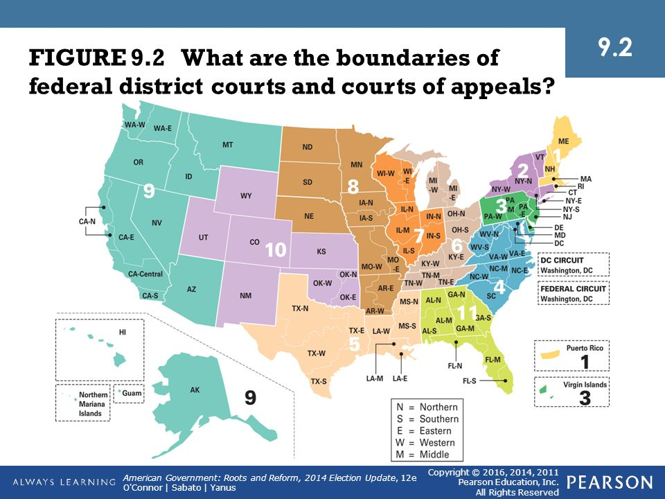 The Judiciary Larry DowningLandov Ppt Download - Us court of appeals map