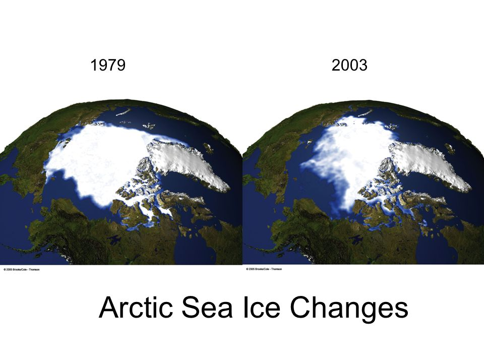 1979 2003 Arctic Sea Ice Changes
