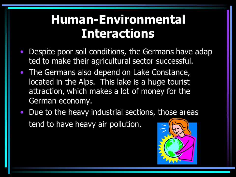 Human-Environmental Interactions