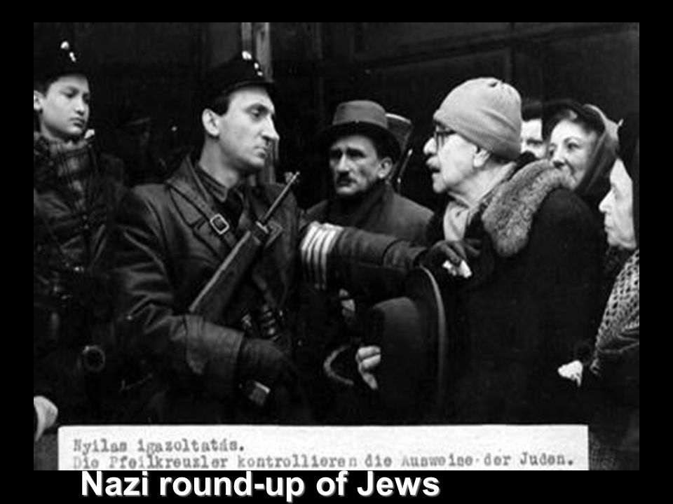 Nazi round-up of Jews