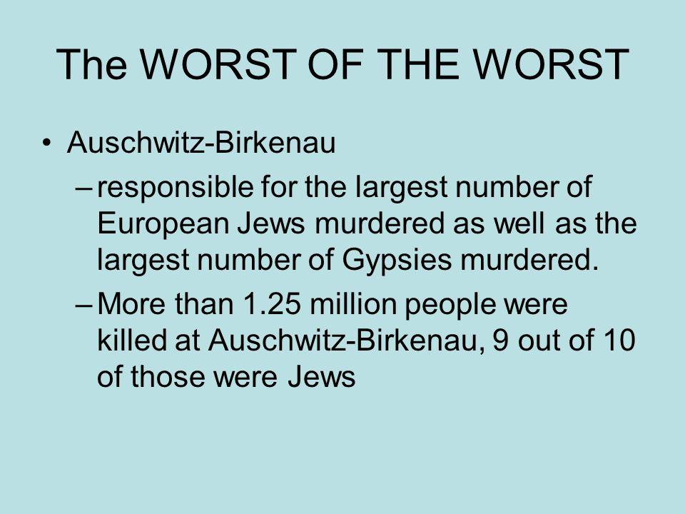 The WORST OF THE WORST Auschwitz-Birkenau