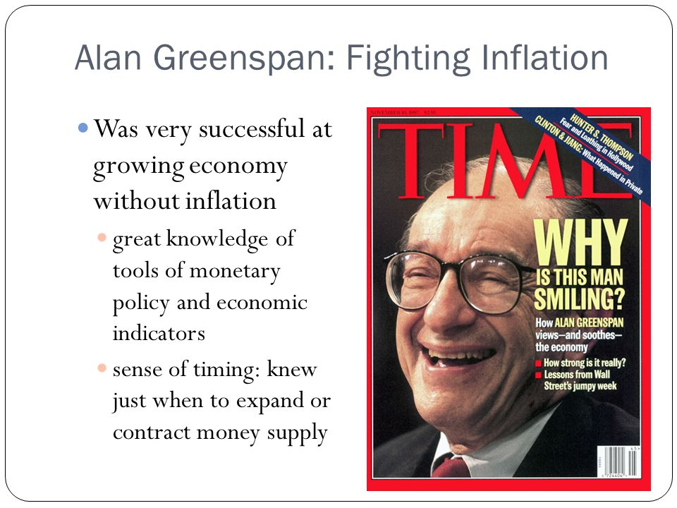 Alan Greenspan: Fighting Inflation