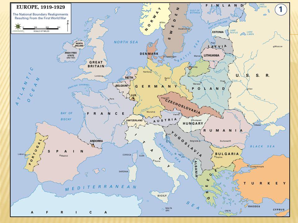 The World after World War I