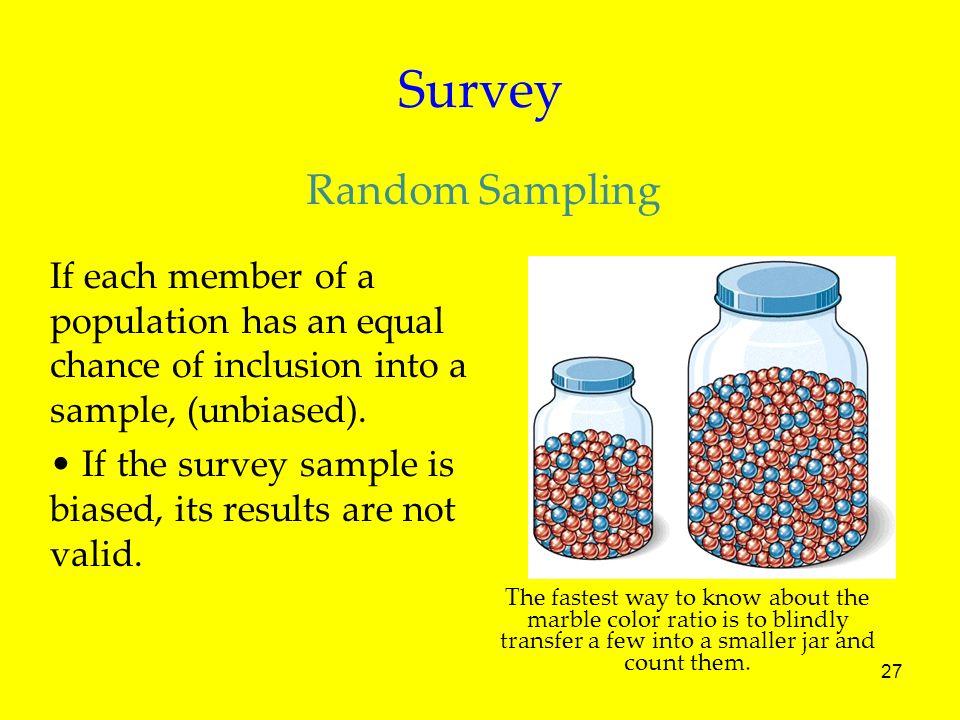 Survey Random Sampling