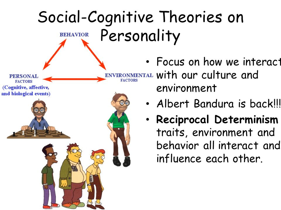 Social-Cognitive Theories on Personality