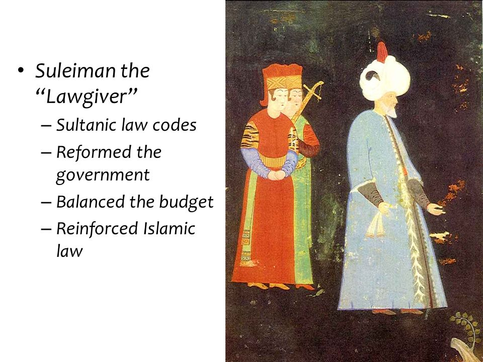 Suleiman the Lawgiver
