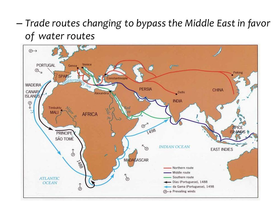 Trade routes changing to bypass the Middle East in favor of water routes