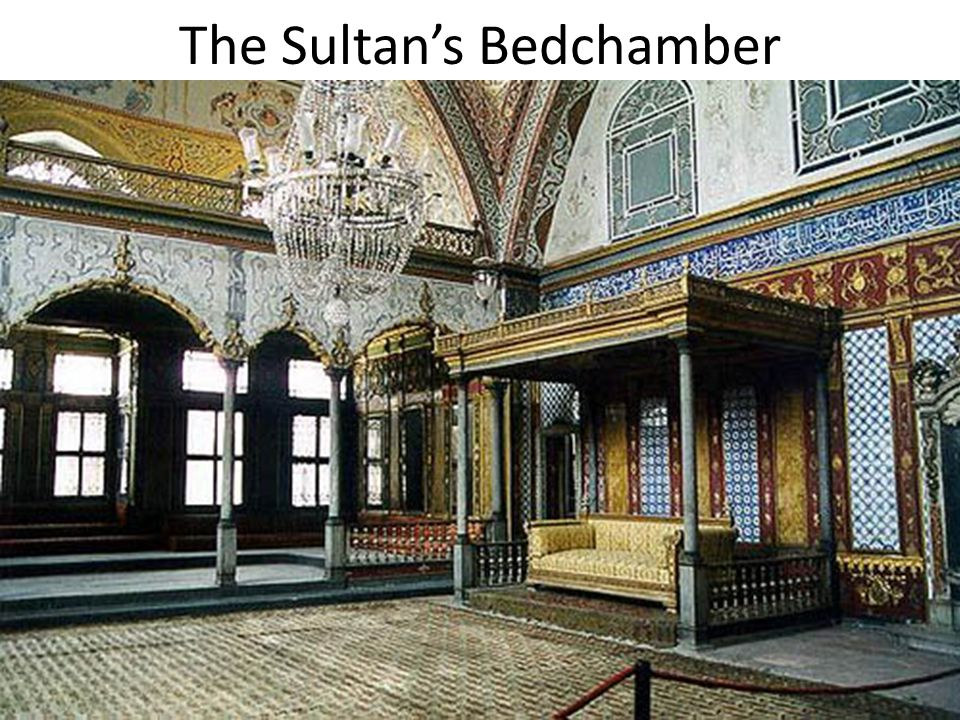 The Sultan's Bedchamber