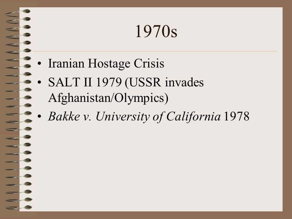 1970s Iranian Hostage Crisis