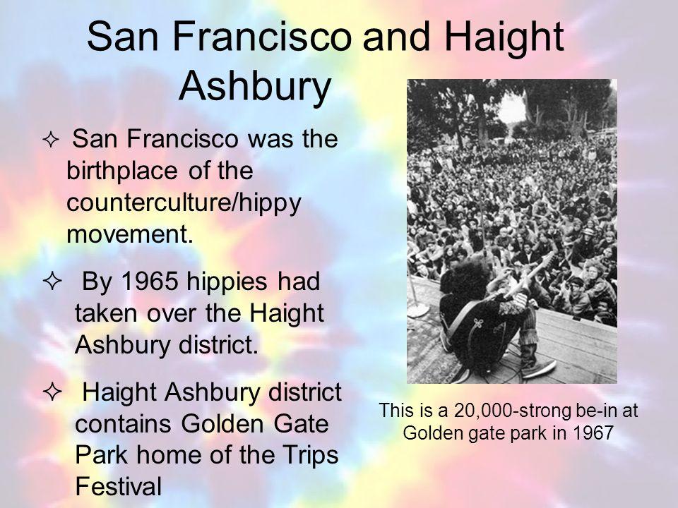 San Francisco and Haight Ashbury