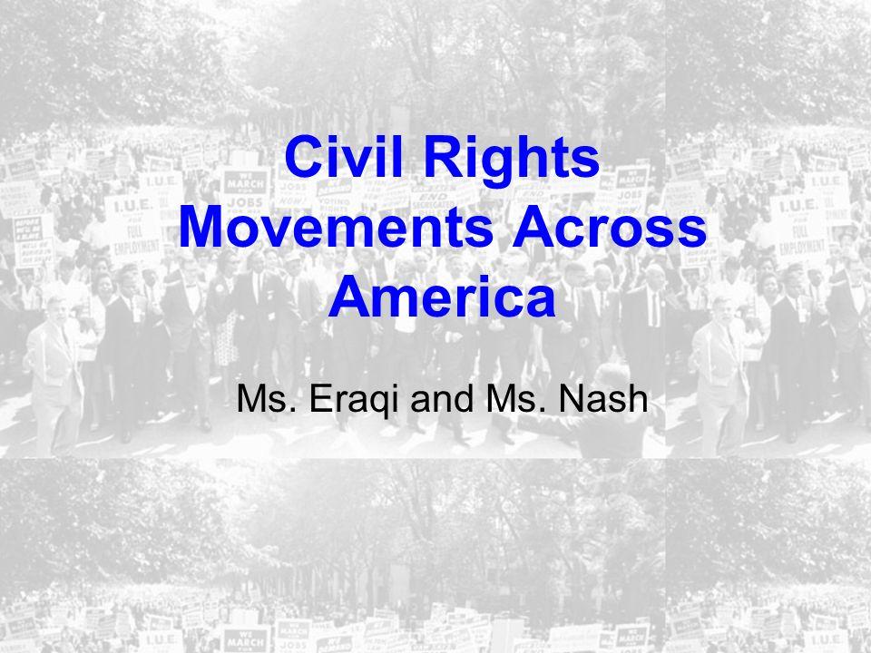 Civil Rights Movements Across America
