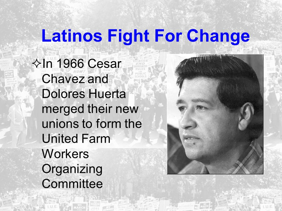 Latinos Fight For Change
