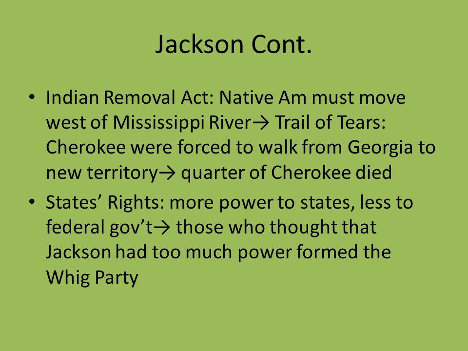 Jackson Cont.