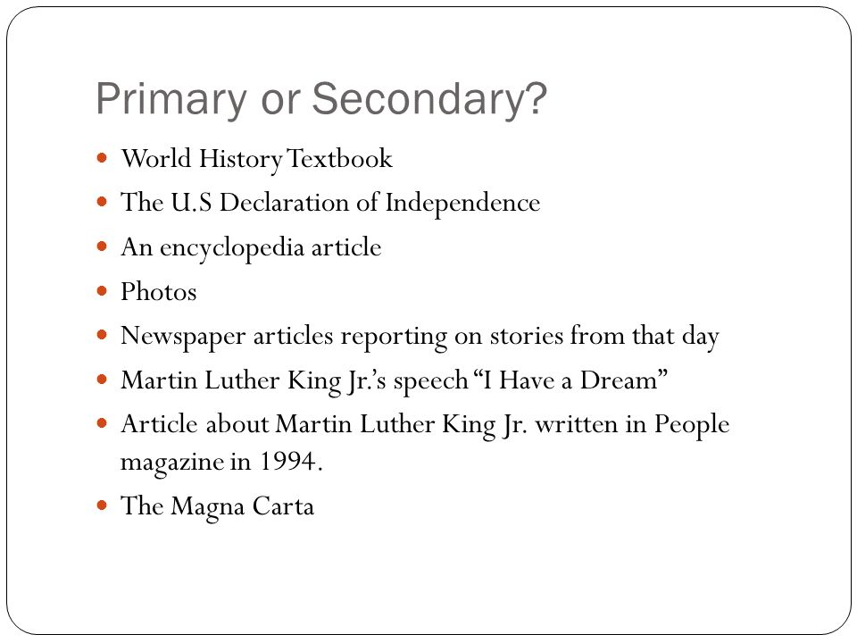 Primary or Secondary World History Textbook