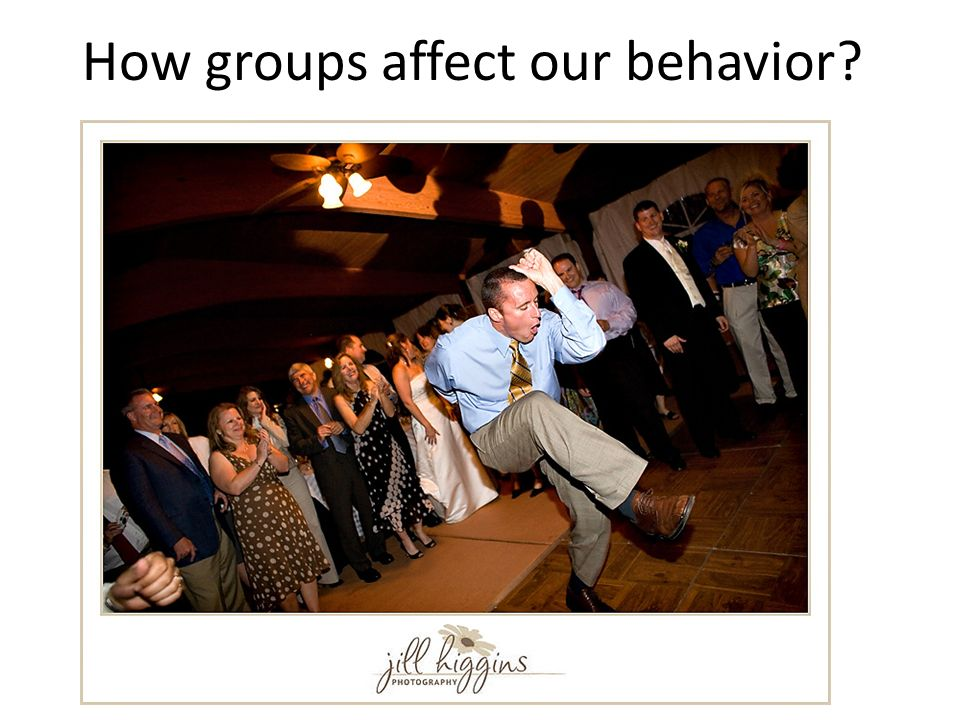 How groups affect our behavior