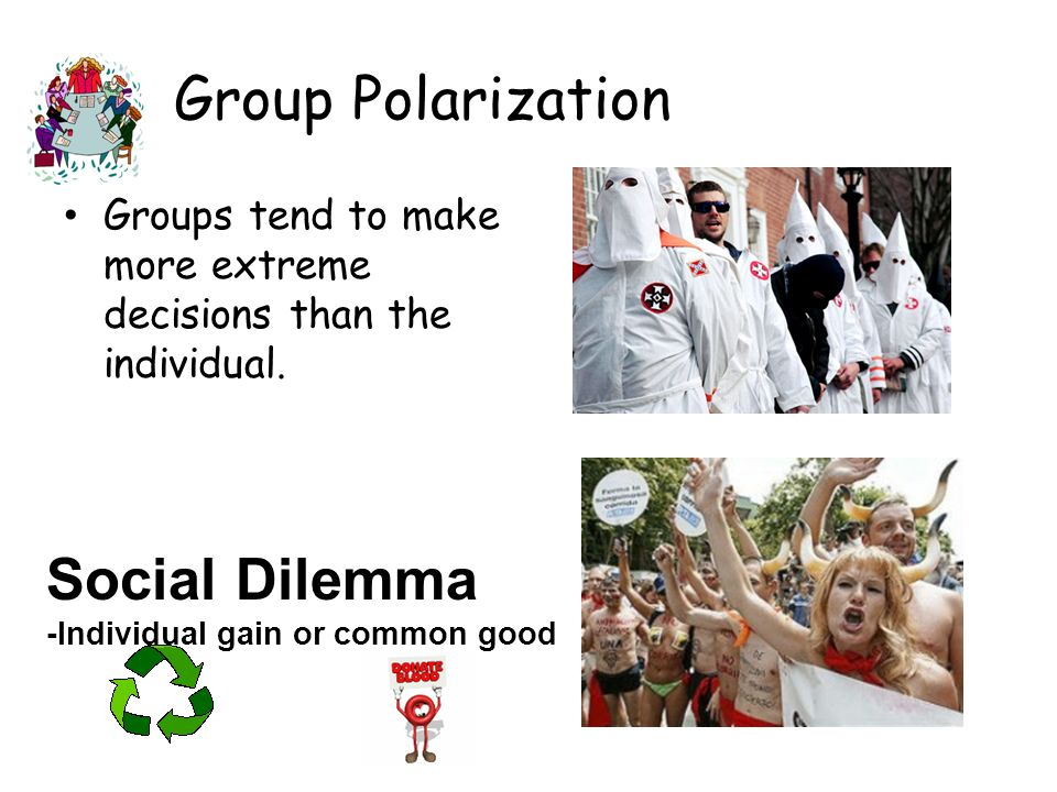 Group Polarization Social Dilemma