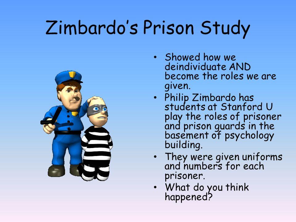 Zimbardo's Prison Study