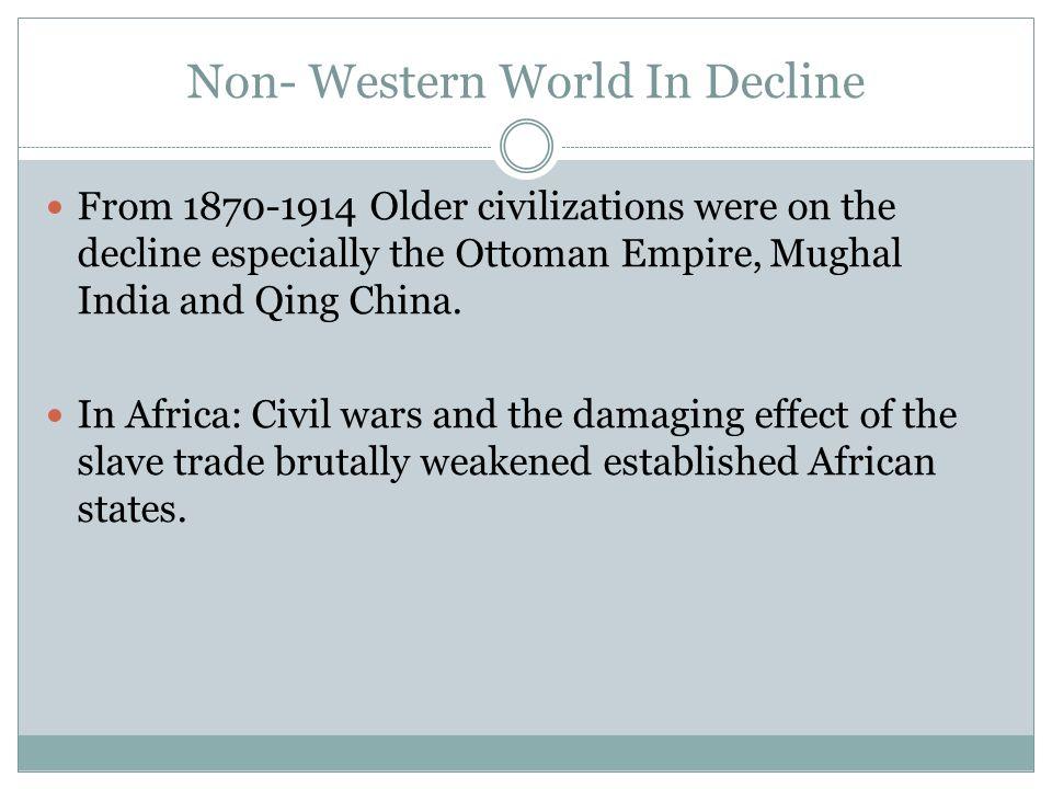 Non- Western World In Decline