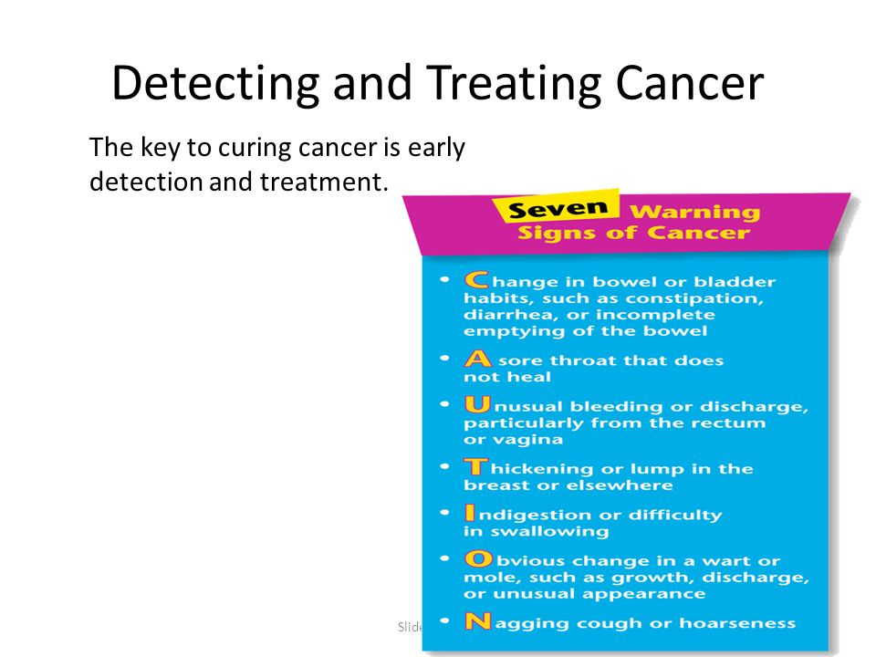 Detecting and Treating Cancer