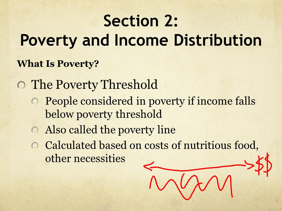 Section 2: Poverty and Income Distribution