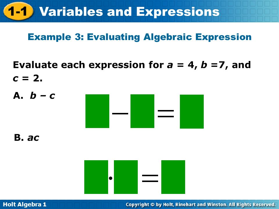 Write an algebraic expression 6 times a number increased by ?