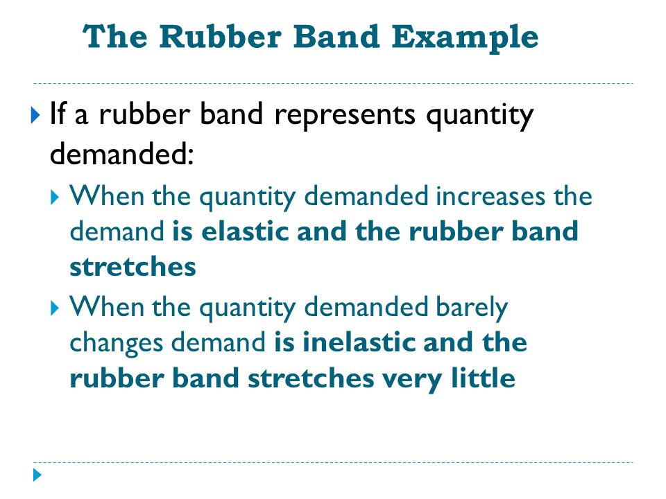 The Rubber Band Example