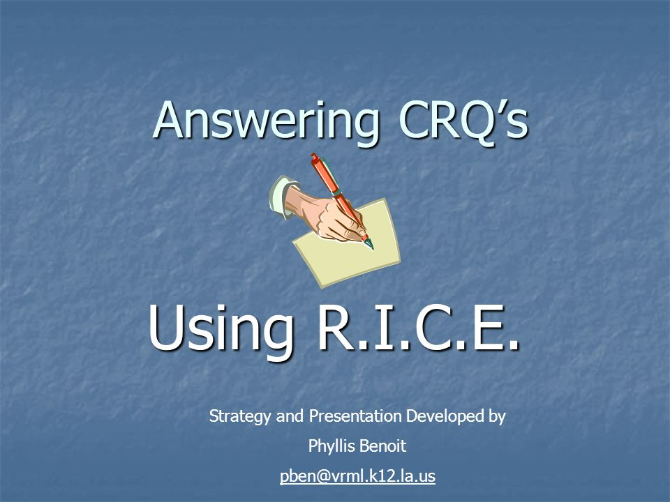 Strategy and Presentation Developed by