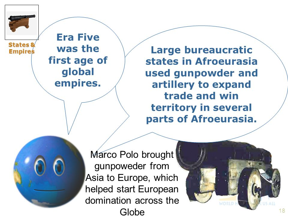 Era Five was the first age of global empires.