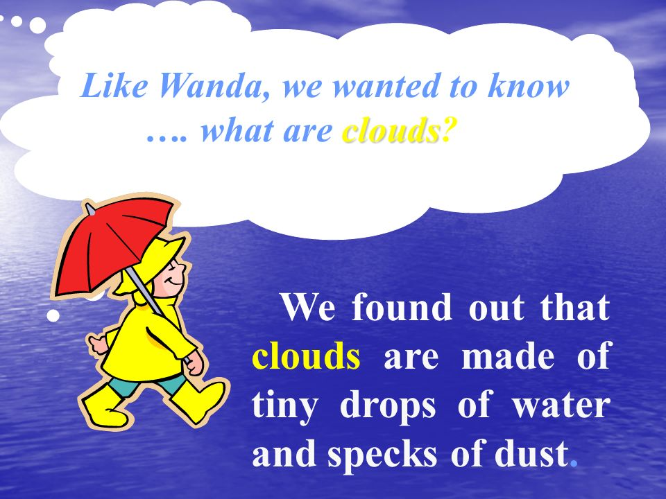 Like Wanda, we wanted to know