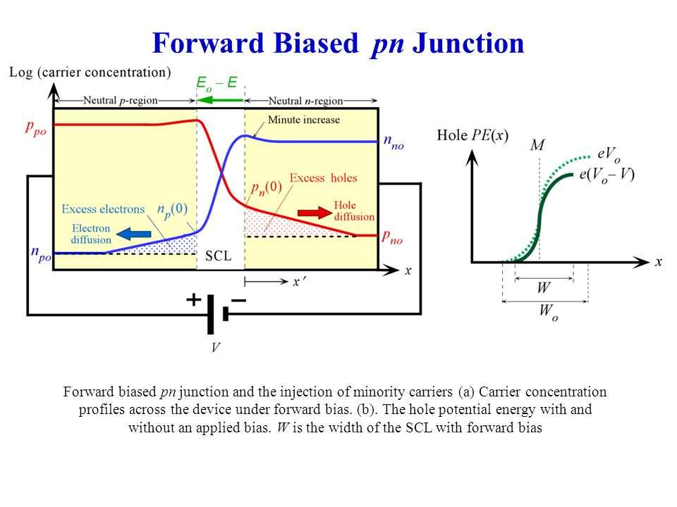 pn junction animation forward bias - 28 images - p n ...