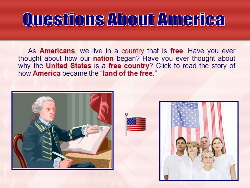 Questions About America