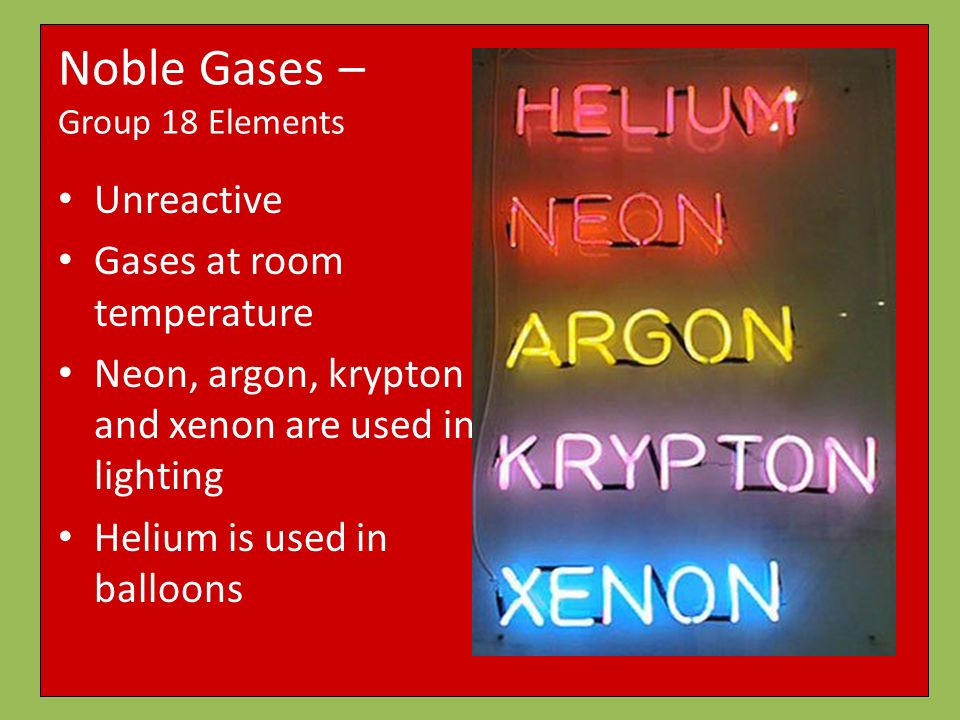 Which  Elements Are Gases At Room Temperature