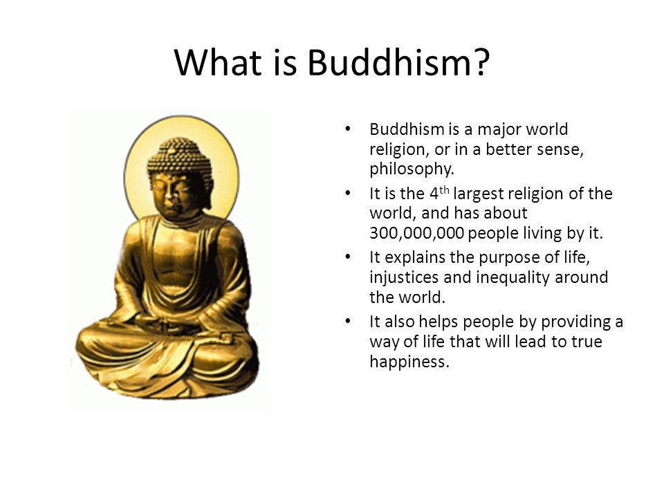an elaboration of the religion of buddhism towards enlightenment Religion of buddhism essay examples  an elaboration of the religion of buddhism towards enlightenment  buddhism is a religion based around finding enlightenment.