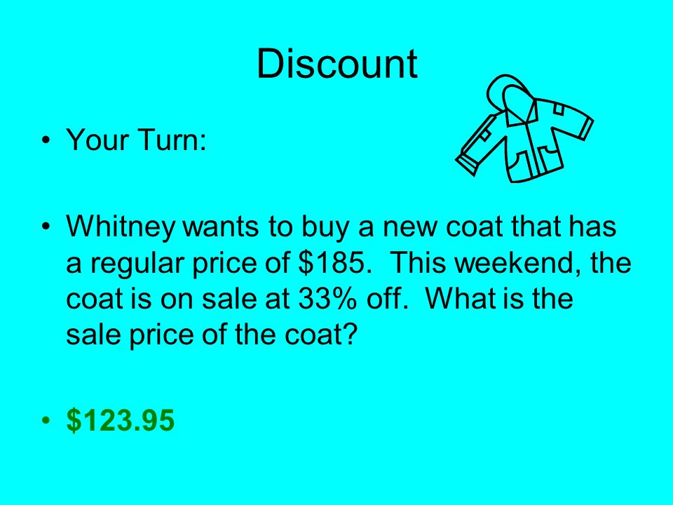 Discount Your Turn: