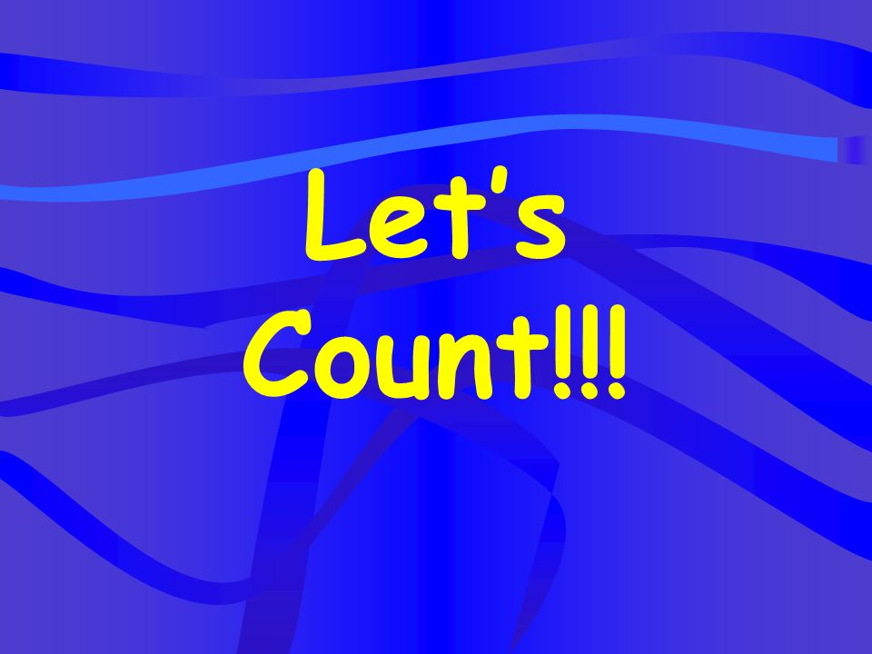 Let's Count!!!