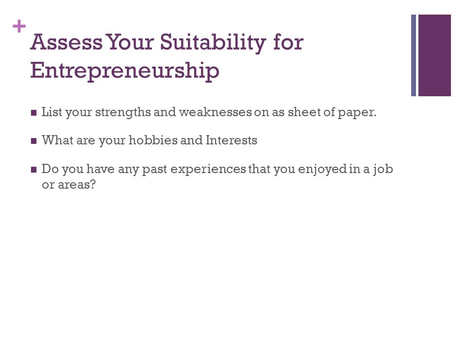 Should you become an Entrepreneur? - ppt download