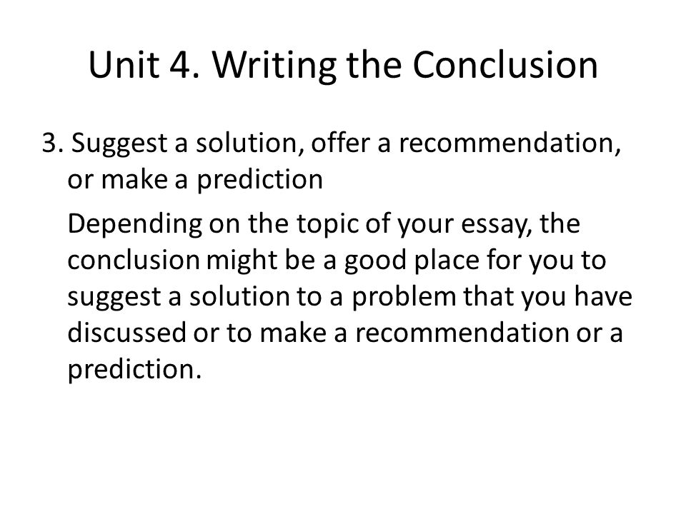which of the following would be a good thesis for a problem-solution essay Writing assignments the following handouts provide examples of essay exciting opening for a timed essay instead, you can state your thesis right.