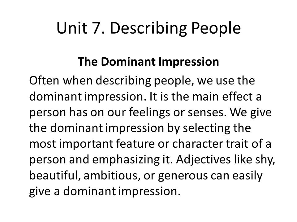 describing people essays Top 147 successful college essays or some days furious and fed up with people i would use these three words to describe myself and to say why i believe.