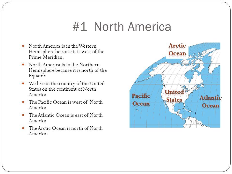 #1 North America Arctic Ocean United States Pacific Ocean