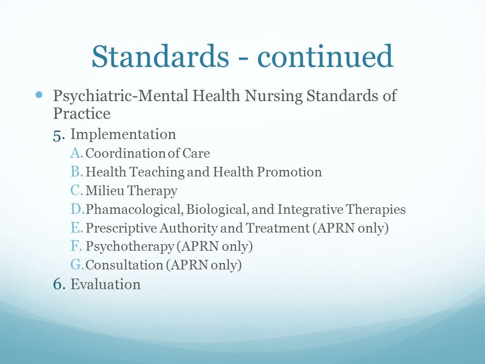 standard of care and medical practice Nurses practice primarily on hospital units and care for adult patients who are   medical-surgical nursing practice and standards were published in 1974 by the .
