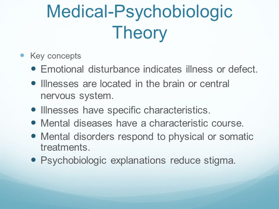 theories of mental health pdf