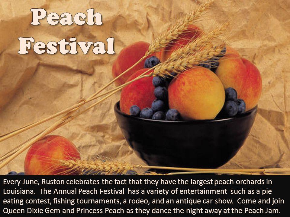 Peach Festival.